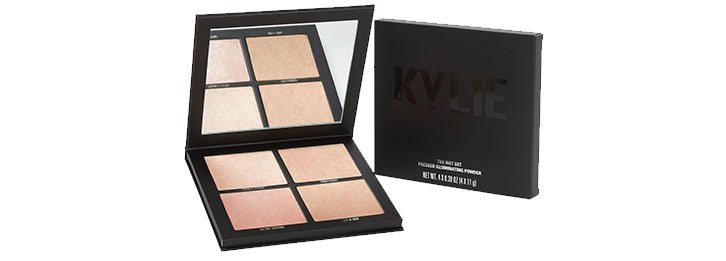 The Wet Set Pressed Illuminating Powder Palette by Kylie Cosmetics